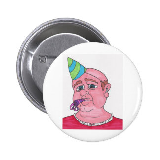 Welcome to middle age pinback button