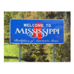 Welcome to Mississippi Postcard