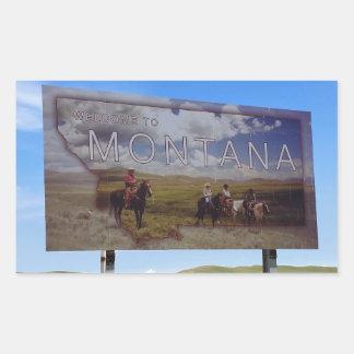 Welcome to Montana Sticker