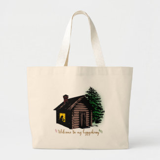 Welcome to my Hyggekrog Large Tote Bag