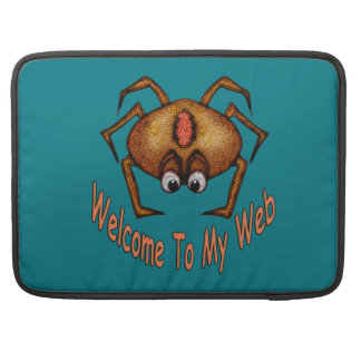 Welcome To My Web Sleeve For MacBooks