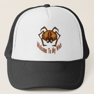 Welcome To My Web Trucker Hat