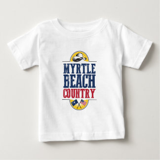 Welcome to Myrtle Beach Country Baby T-Shirt