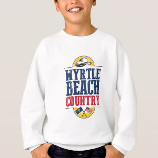 Welcome to Myrtle Beach Country Sweatshirt