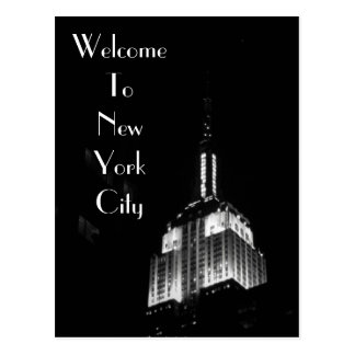 Welcome To New York City Postcard