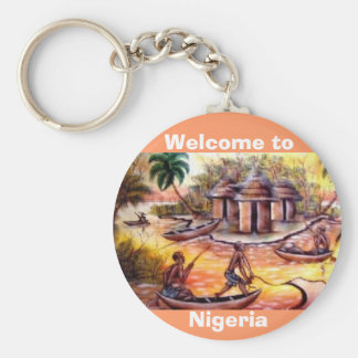 welcome to Nigeria - Customized Key Ring