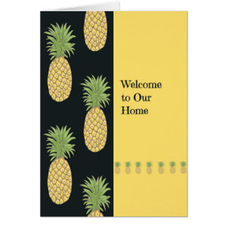 Welcome to our Home Card for Sister in Law