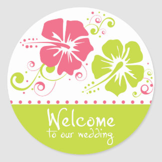 Welcome to Our Wedding - Sticker
