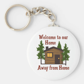 Welcome To Out Home Away From Home Key Ring