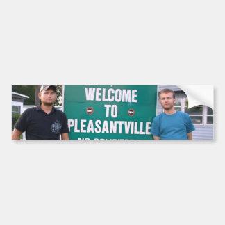 Welcome To Pleasantville Bumper Sticker
