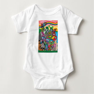 Welcome to Plushism land Baby Bodysuit