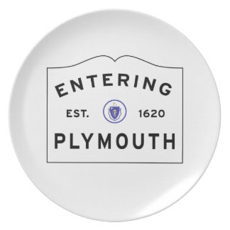 Welcome to Plymouth MA Plate