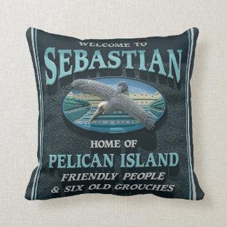 Welcome to Sebastian, FL Cushion