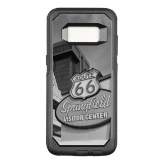 Welcome To Springfield Grayscale OtterBox Commuter Samsung Galaxy S8 Case