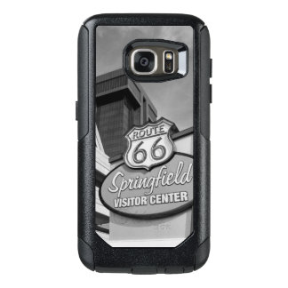 Welcome To Springfield Grayscale OtterBox Samsung Galaxy S7 Case