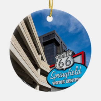 Welcome To Springfield MO Ceramic Ornament
