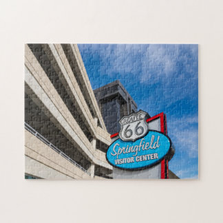 Welcome To Springfield MO Jigsaw Puzzle