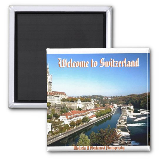 Welcome To Switzerland (Mojisola A Gbadamosi) Magnet