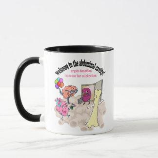 Welcome to the abdominal cavity! mug