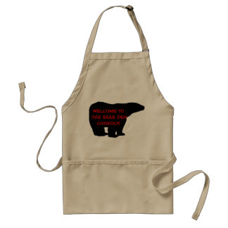 Welcome to the Bear Den Cookout Apron