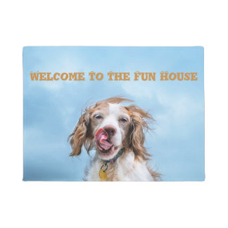 Welcome To The Fun House Doormat