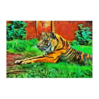 Welcome to The Jungle Acrylic Print