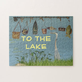 Welcome to the Lake Heron Jigsaw Puzzle