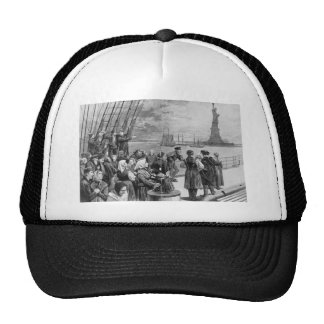 Welcome to the Land of Freedom from Ellis Island Hat