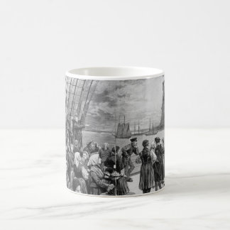 Welcome to the Land of Freedom from Ellis Island Mugs