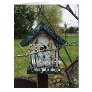 Welcome to the Neighborhood-Bird House Card