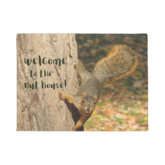 Welcome to the Nut House Doormat