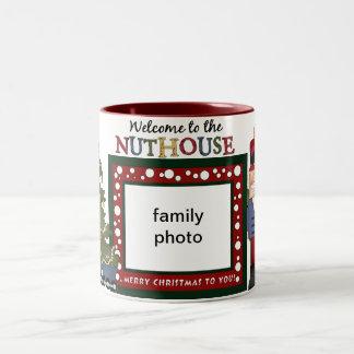 Welcome To The Nuthouse mug