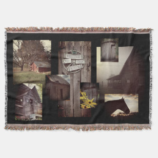Welcome to the Ranch Throw Blanket