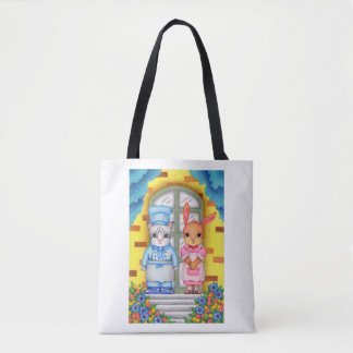 Welcome to the restaurant tote bag