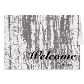 Welcome To The Team Pink Background Wooden Blur Greeting Card