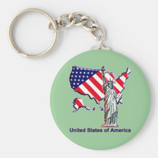 Welcome to the USA Key Ring
