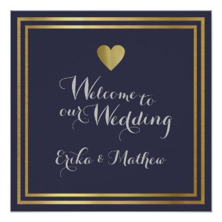 welcome to the wedding of, reception poster