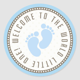 Welcome To The World Little One Classic Round Sticker