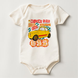 Welcome to the Wrong Side of the Track Baby Bodysuit