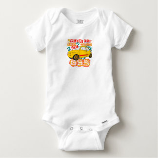 Welcome to the Wrong Side of the Track Baby Onesie