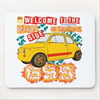 Welcome to the Wrong Side of the Track Mouse Pad