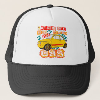 Welcome to the Wrong Side of the Track Trucker Hat