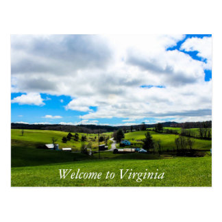 Welcome to Virginia 2 Postcard
