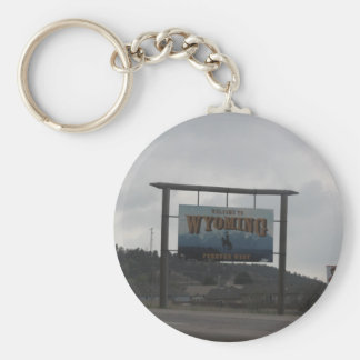 Welcome to Wyoming Key Chain