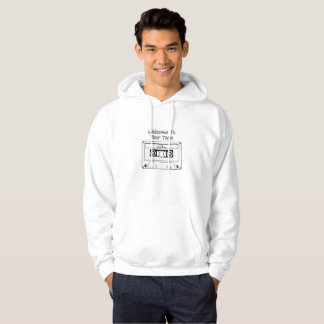 Welcome To Your Tape Find The Reasons Skull Hoodie