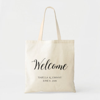 Welcome wedding welcome gift tote bag