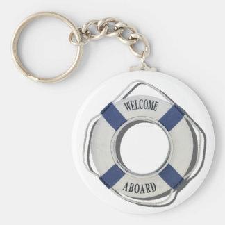 WelcomeAboardLifePreserver071812.png Key Ring