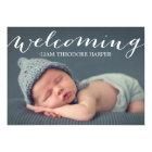 Welcoming Script   Birth Announcement