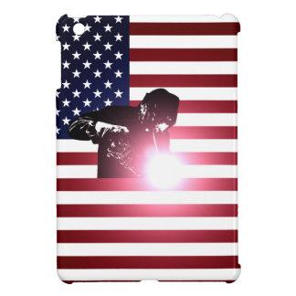 Welder and American Flag iPad Mini Case
