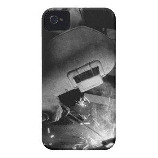 Welder at Work BlackBerry Bold Case-Mate Case-Mate iPhone 4 Case